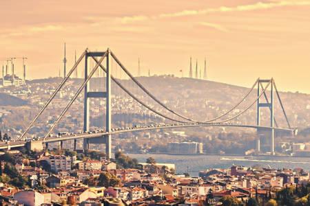 Puente del Bósforo en Estambul