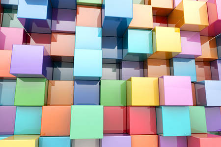 3D Abstraction: Cubes