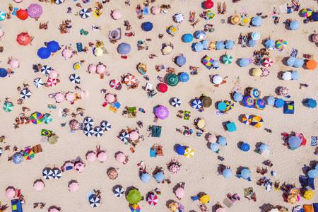 Бразильські пляжі вид з повітря