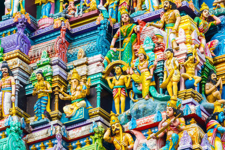 Statue del tempio di Shiva-Nataraja