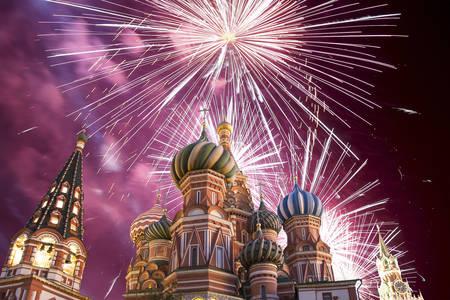 Kreml tűzijáték