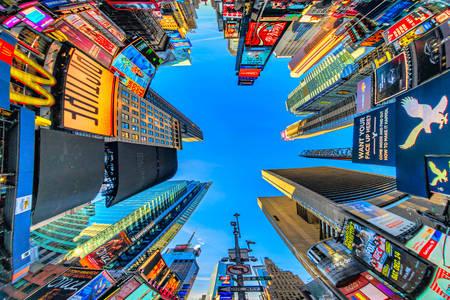 Небоскребы на Таймс-сквер