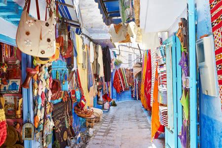 Straße in Chefchaouen