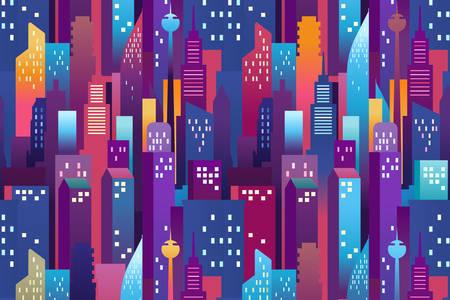 Χρωματιστοί ουρανοξύστες