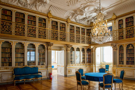 Library at Christiansborg Palace