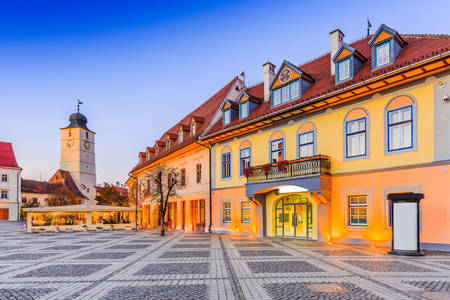 Great Square and the Council Tower of Sibiu