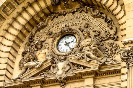 Архитектура на двореца на CEC в Букурещ
