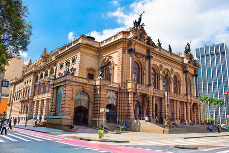 Stadttheater von São Paulo