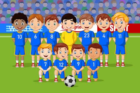 Fotbalový tým