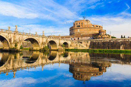 Bridge and Castel Sant'Angelo