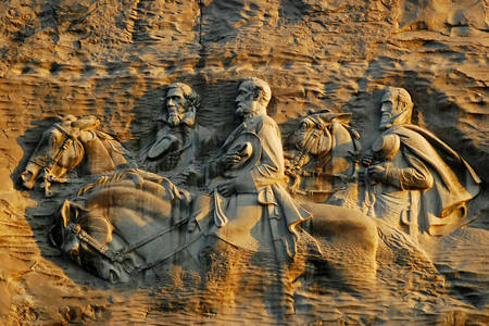 Confederate Memorial at Stone Mountain