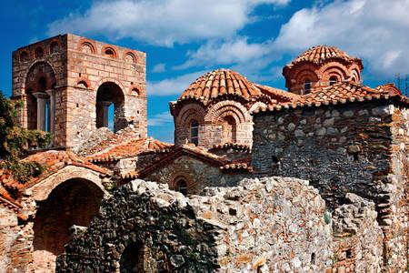 Church of Hagia Sophia in Mystra
