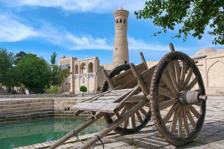 Стара количка в кулата на Ходжа Калон