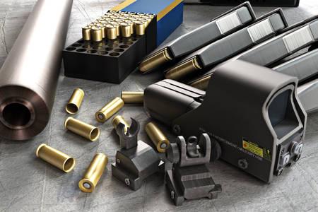 Gewehrpatronen und Zubehör