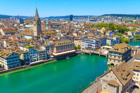 Acoperișurile din Zurich