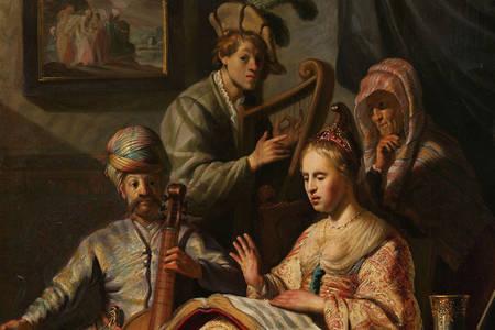 Rembrandt Harmenszoon Van Rijn: The Music Company