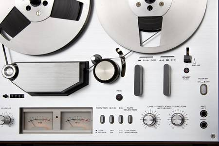 Ovládací panel magnetofonu
