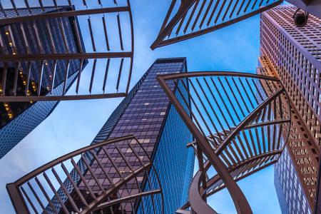 Skyscraper facades