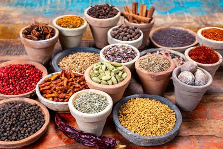 Indiase kruiden en specerijen