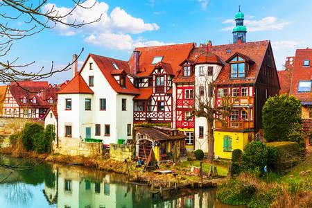 Architettura delle case in Germania