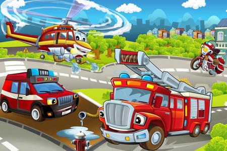 Trasporto antincendio