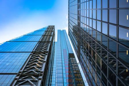 Moderne poslovne zgrade u Londonu