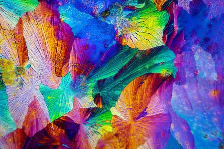 Extreme macro shot of paracetamol crystals