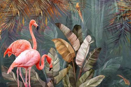 Фламинго в тропиците