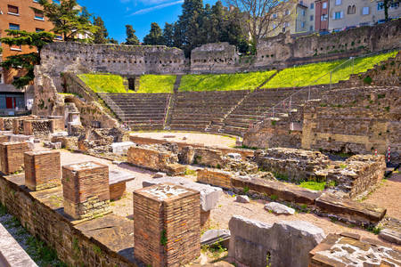 Ancient Roman theater of Trieste