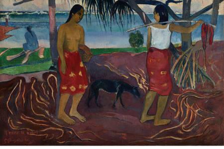 "Paul Gauguin: ""Under the Pandanus"""