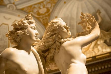 "Sculpture ""Apollo and Daphne"""