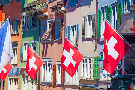 Na ulicama Švicarske