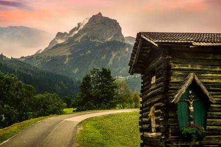 Cabana alpina