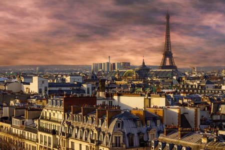 Večerný Paríž