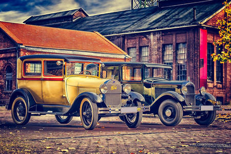 Retro autók