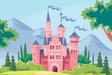 Castelo rosa