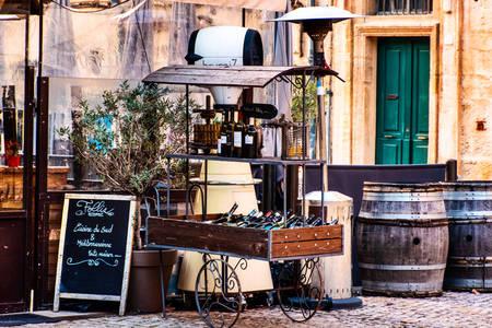 Street wine shop