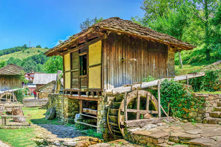"Water mill in the museum ""Etar"""