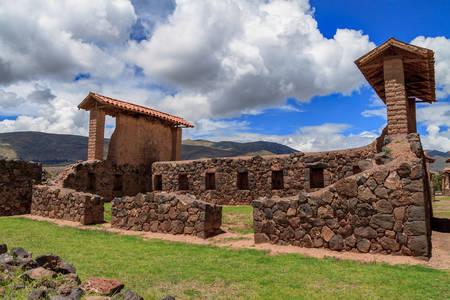 Inca ruins of Rakchi