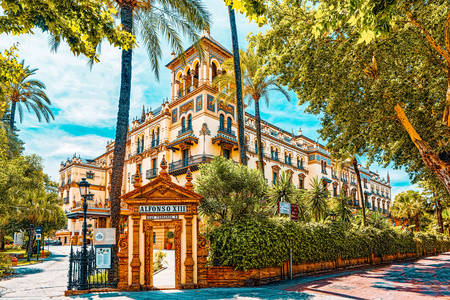 Hotel Alfonso XIII in Seville