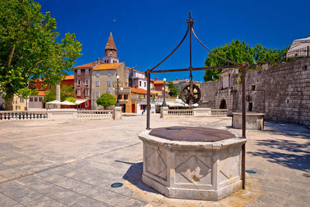 Square of Five Wells in Zadar