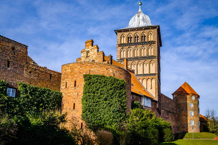 City gate Burgtor in Lubeck