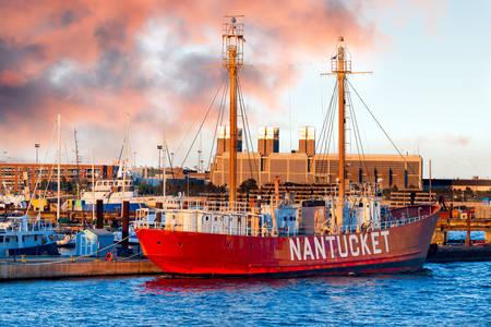 "Floating lighthouse ""Nantucket"""