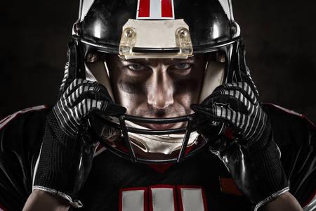 Портрет на играч на американски футбол