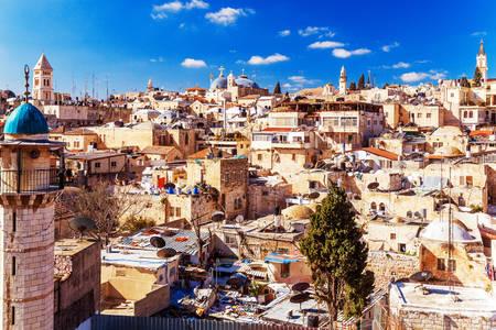 Jeruzalem stari grad