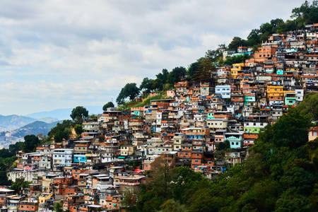Favelas - brazilske kuće