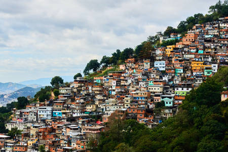 Favelas - brazil nyomornegyed
