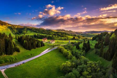 Φύση γύρω από το χωριό Telgart