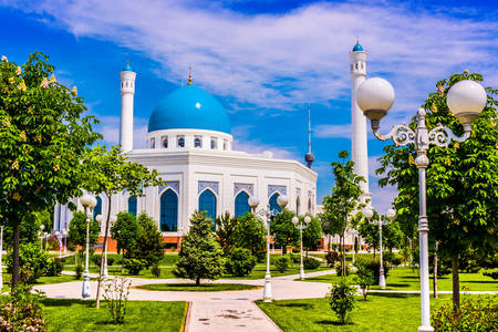 Mezquita menor en Tashkent