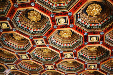 Ceiling in Mir Castle